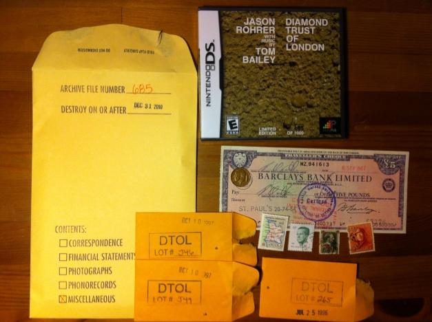 Diamond Trust of London Packaging