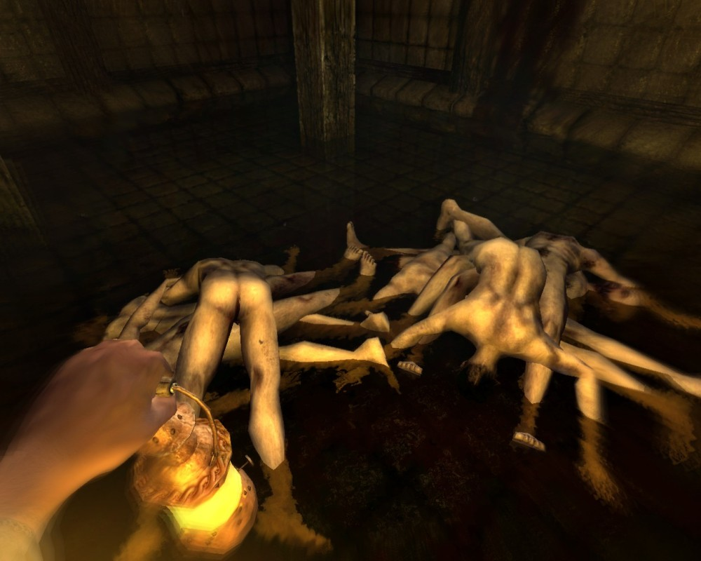 Amnesia: The Dark Descent - true horror and amazing game (4/6)