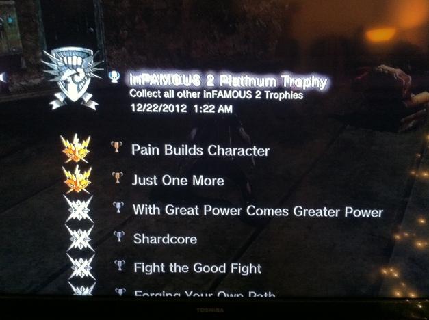 inFAMOUS 2 Platinum