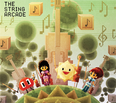 The String Arcade, game music for string quartet