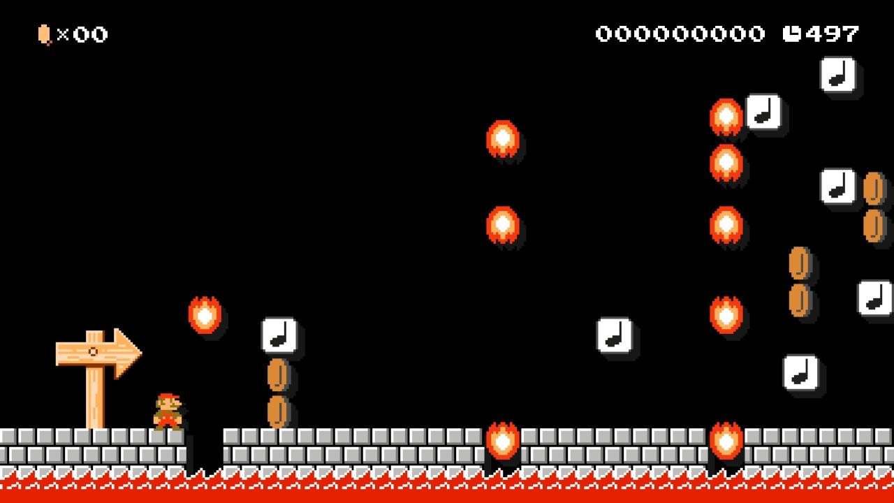 Super Mario Maker Level: Sinister Den | Polygons and Pixels