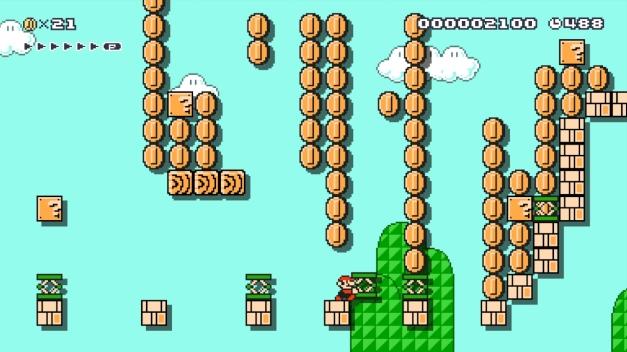 Super Mario Maker: Peter's 30th Birthday Bash